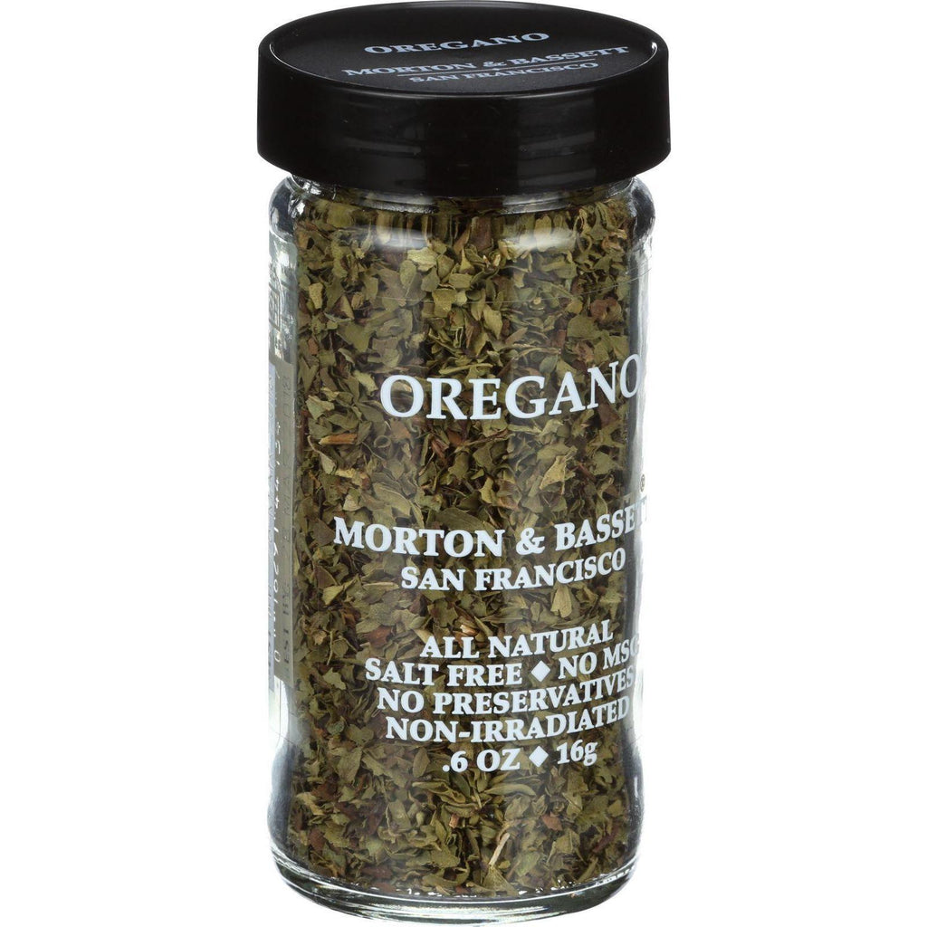 Morton And Bassett Oregano - .6 Oz - Case Of 3-Morton And Bassett-pantryperks