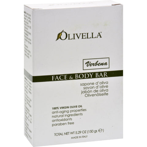 Olivella Face And Body Bar Verbena - 5.29 Oz-Olivella-pantryperks