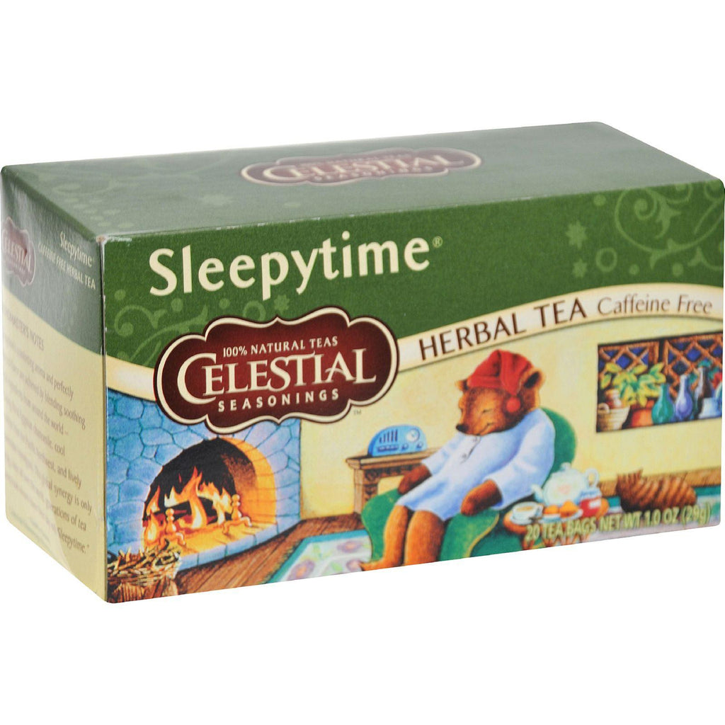 Celestial Seasonings Sleepytime Herbal Tea Caffeine Free - 20 Tea Bags - Case Of 6-Celestial Seasonings-pantryperks