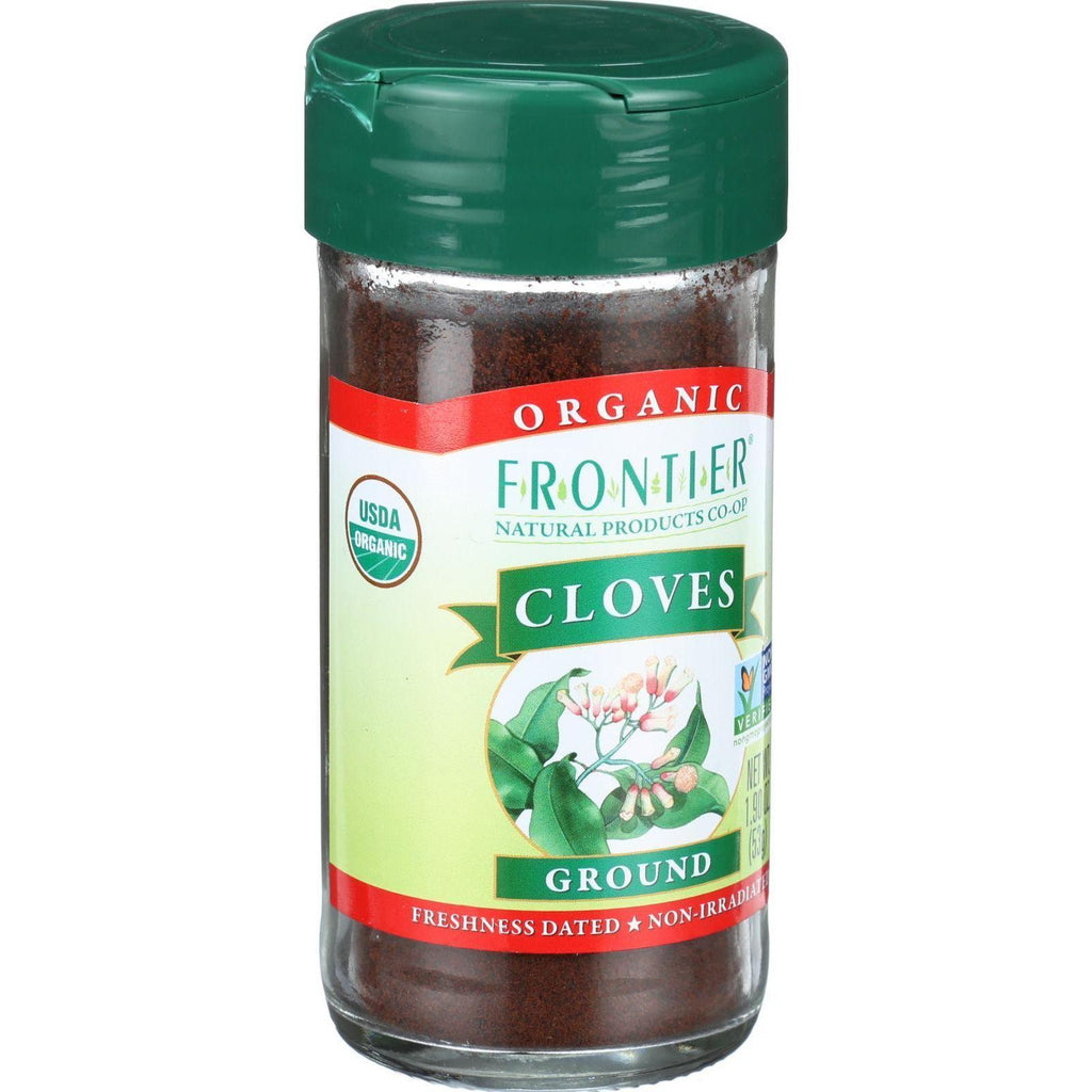 Frontier Herb Cloves - Organic - Ground - 1.90 Oz-Frontier Herb-pantryperks