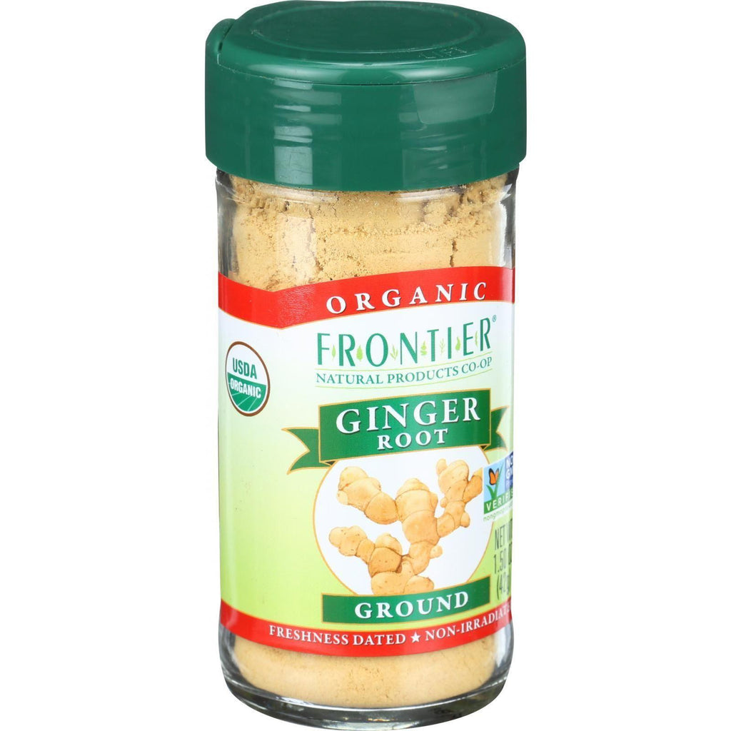 Frontier Co-Op Organic Ginger Root Ground - 1.5 oz-Frontier Herb-pantryperks