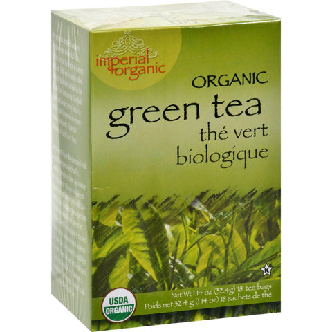 Uncle Lee's Imperial Organic Green Tea - 18 Tea Bags-Uncle Lee's Tea-pantryperks