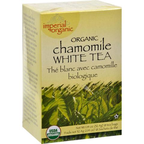 Uncle Lee's Organic Chamomile White Tea - 18 Tea Bags-Uncle Lee's Tea-pantryperks