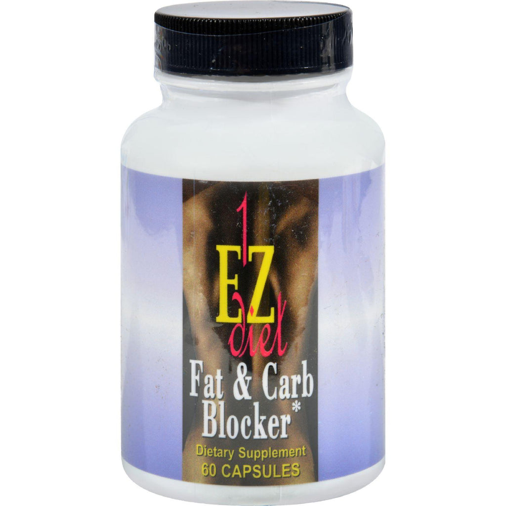 Maximum International 1-ez Fat And Carb Blocker - 60 Capsules-Maximum International-pantryperks