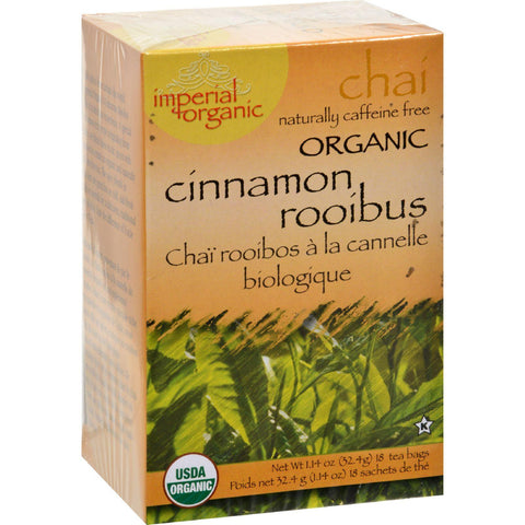 Uncle Lee's Imperial Organic Cinnamon Rooibus Chai Tea - 18 Tea Bags-Uncle Lee's Tea-pantryperks