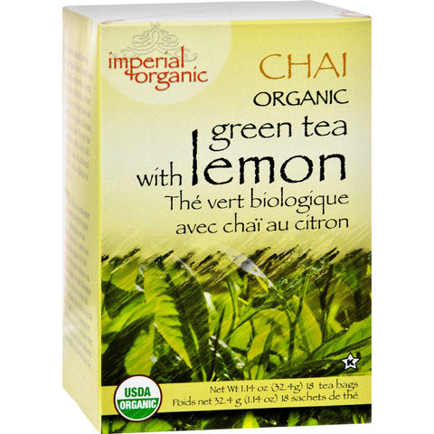 Uncle Lee's Tea Organic Imperial Lemon Chai - 18 Bags-Uncle Lee's Tea-pantryperks