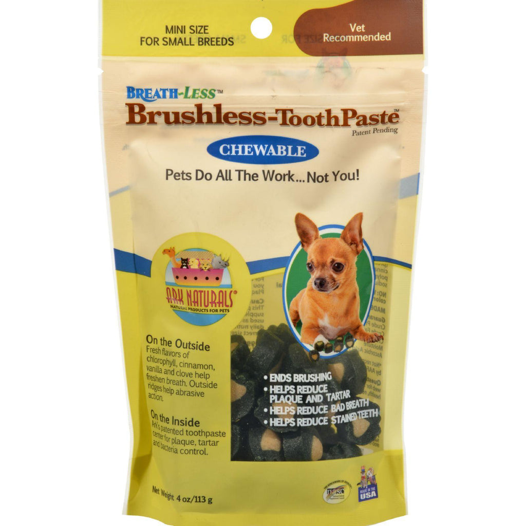 Ark Naturals Breath-less Brushless Toothpaste - 4 Oz-Ark Naturals-pantryperks