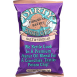 Dirty Potato Chips Original Recipe Potato Chips Salt & Vinegar - 2 oz-Dirty Chips-pantryperks