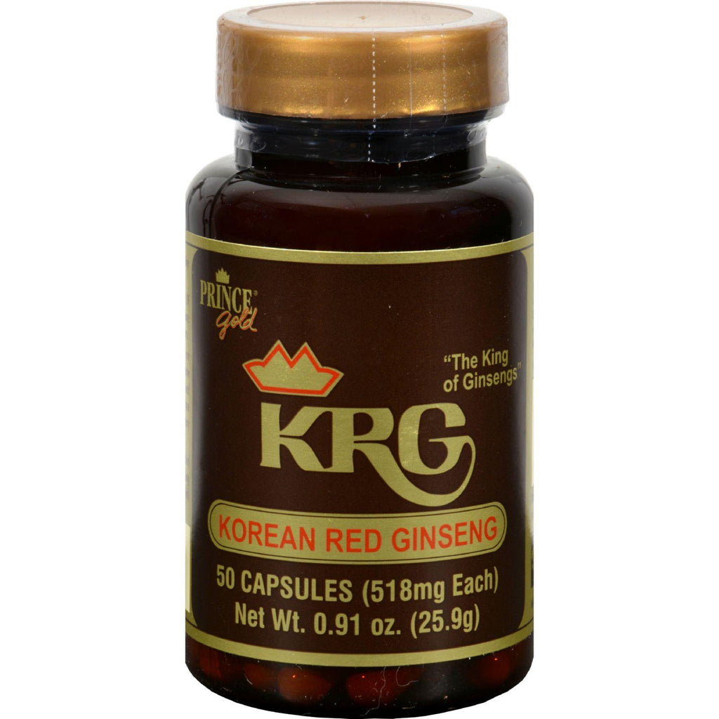 Prince Of Peace Korean Red Ginseng - 50 Capsules-Prince Of Peace-pantryperks