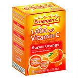 Emergenc Original Formula - 1000 Mg Vitamin C - Super Orange - 10 Packets-Emergen-c-pantryperks