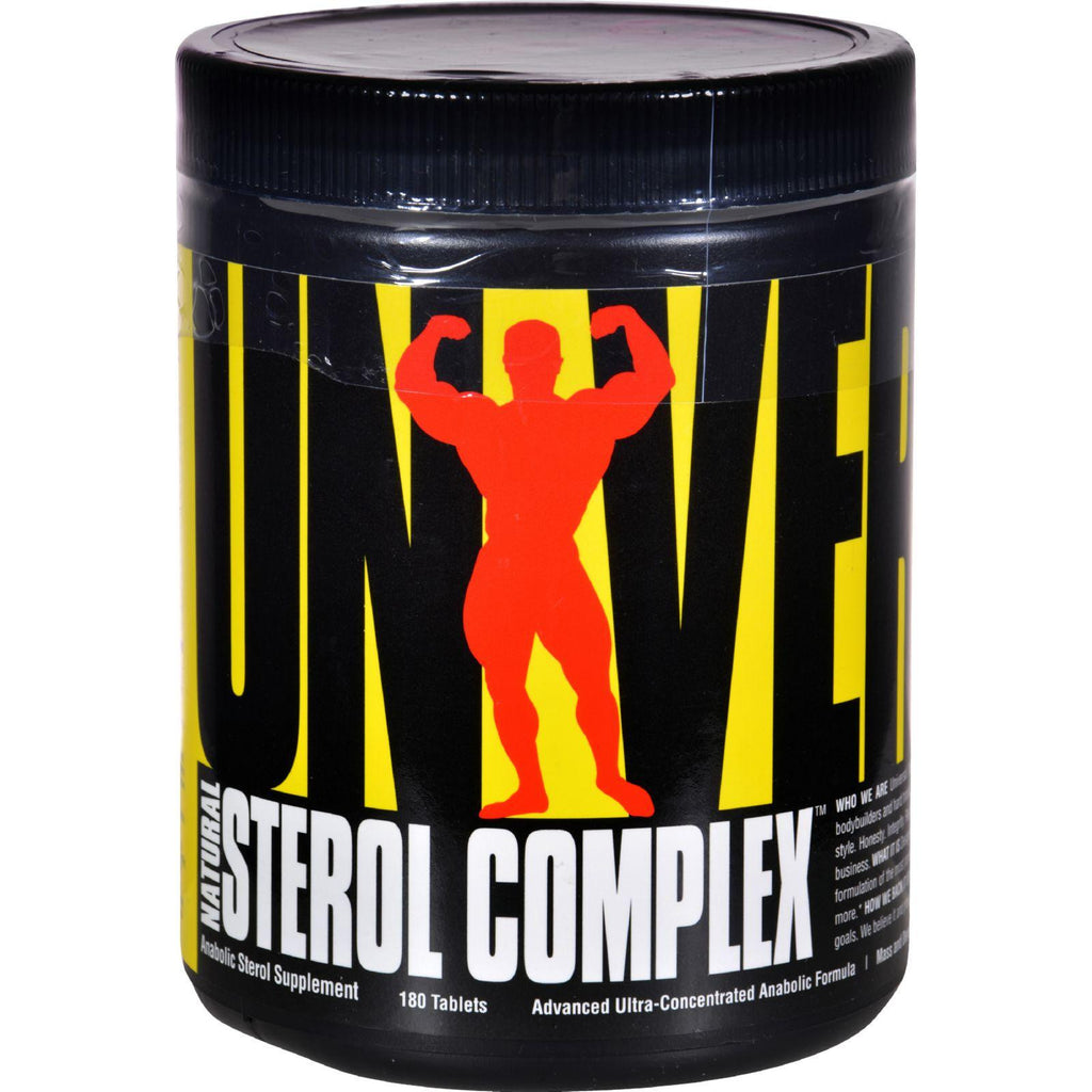 Universal Nutrition Natural Sterol Complex - 180 Tablets-Universal Nutrition-pantryperks