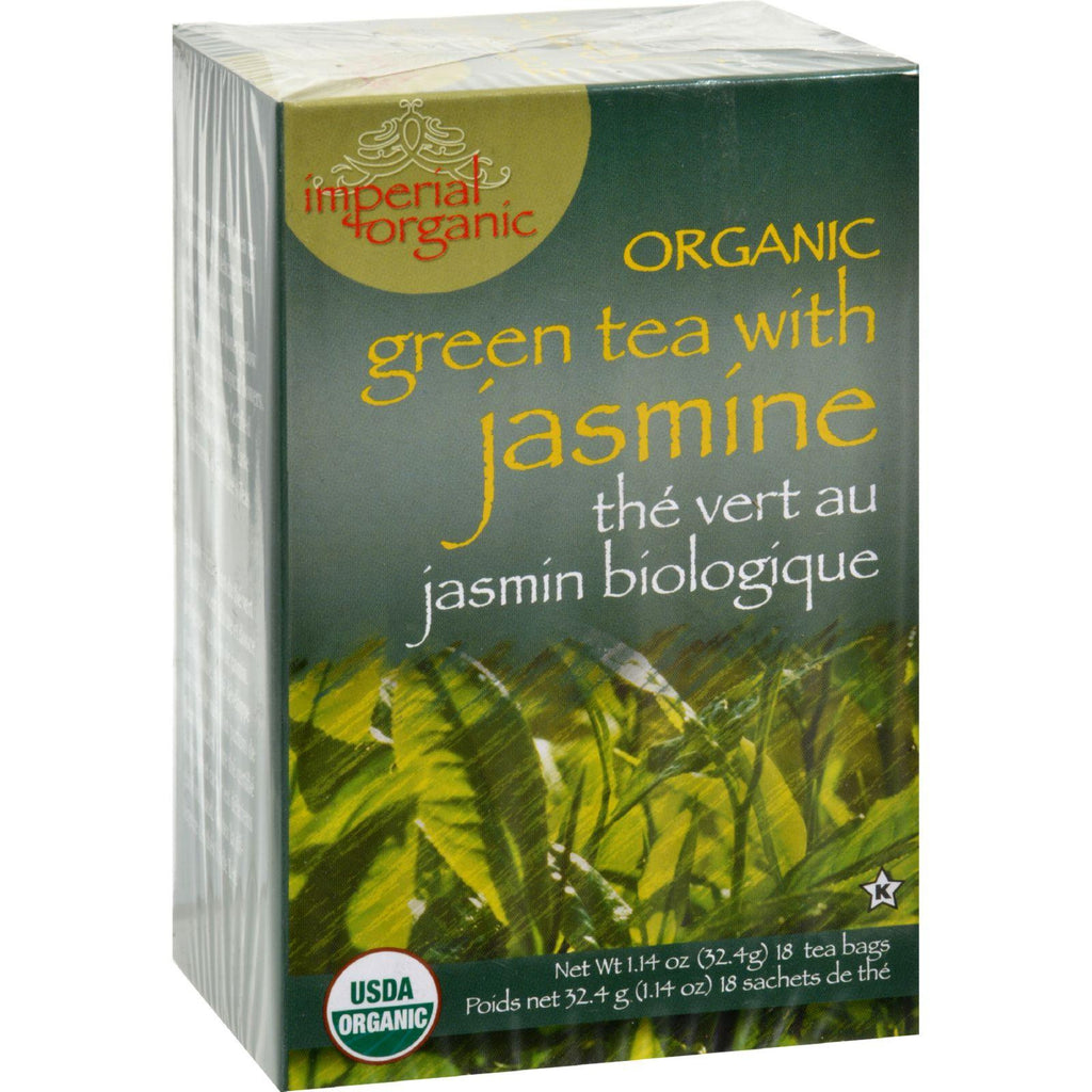 Uncle Lee's Imperial Organic Green Tea With Jasmine - 18 Tea Bags-Uncle Lee's Tea-pantryperks