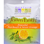 Aura Cacia Foam Bath Peaceful Patchouli and Sweet Orange - 2.5 oz-Aura Cacia-pantryperks