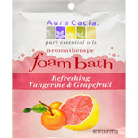 Aura Cacia Foam Bath Refeshing Tangerine and Grapefruit - 2.5 oz-Aura Cacia-pantryperks