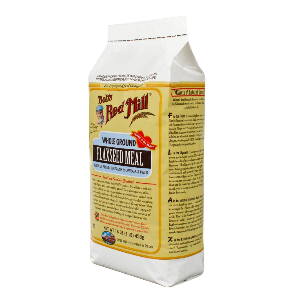 Bob's Red Mill Brown Flaxseed Meal - 16 Ounce - Package May Vary-Bob's Red Mill-pantryperks
