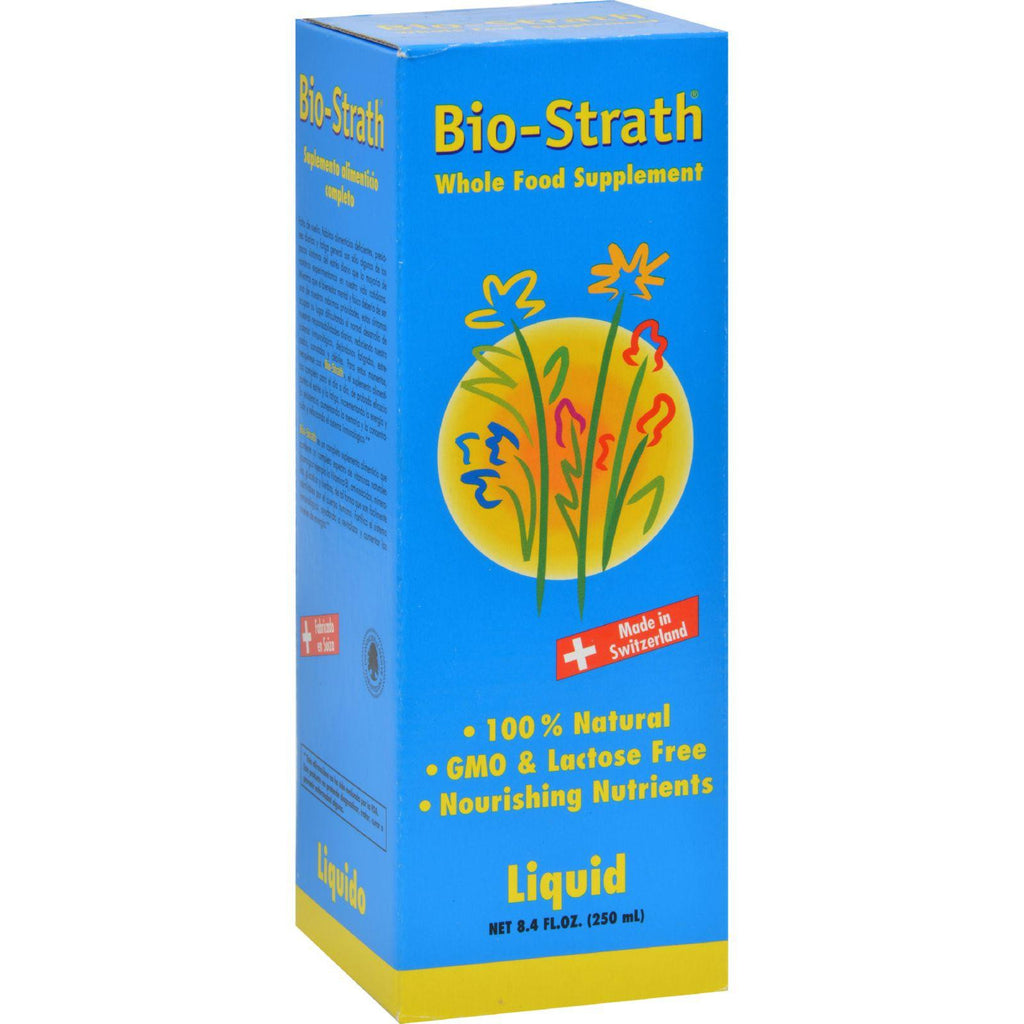 Bio-strath Whole Food Supplement - Stress And Fatigue Formula - Liquid - 8.4 Fl Oz-Bio-strath-pantryperks