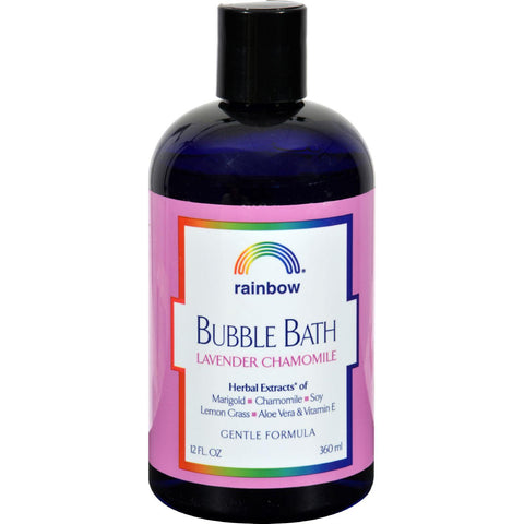 Rainbow Research Gentle Bubble Bath Formula - Lavender And Chamomile - 12 Oz-Rainbow Research-pantryperks