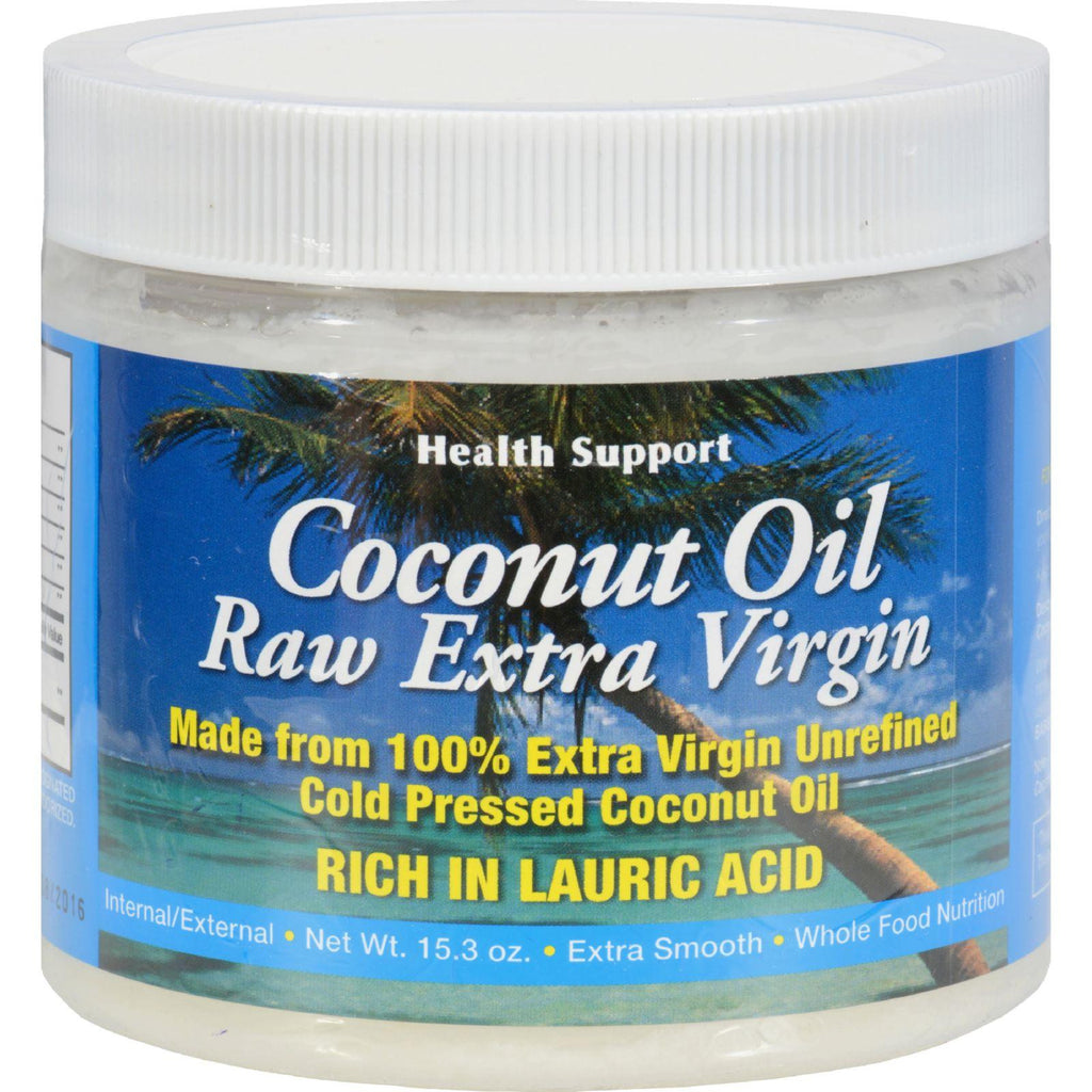 Health Support Raw Coconut Oil - 15.3 Fl Oz-Health Support-pantryperks