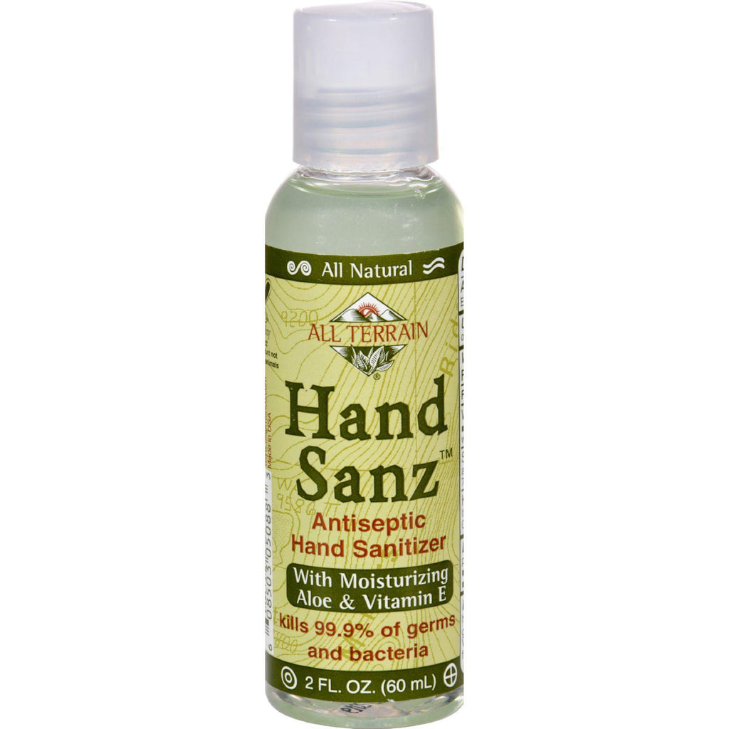 All Terrain Antiseptic Hand Sanitizer With Aloe And Vitamin E - 2 Oz-All Terrain-pantryperks