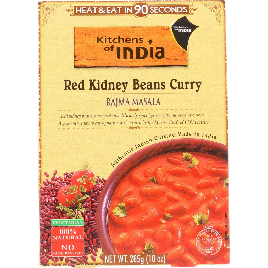 Kitchens Of India Red Kidney Beans Curry - 10 oz-Kitchen Of India-pantryperks