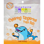Aura Cacia Foam Bath Cheering Tangerine & Sweet Orange - 2.5 oz-Aura Cacia-pantryperks