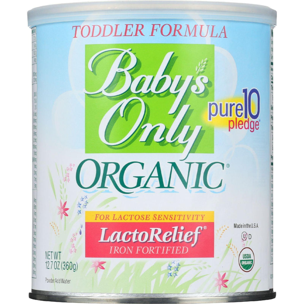 Nature's One Baby's Only Organicå¨ LactoReliefå¨ with DHA & ARA - 12.7 oz-Baby's Only Organic-pantryperks