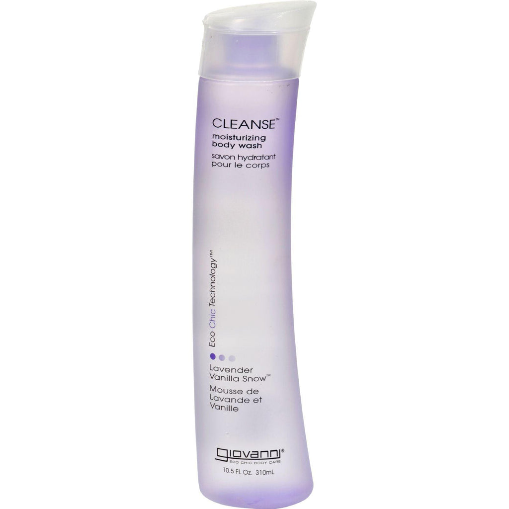 Giovanni Cleanse Body Wash Lavender Vanilla Snow - 10.5 Fl Oz-Giovanni Hair Care Products-pantryperks