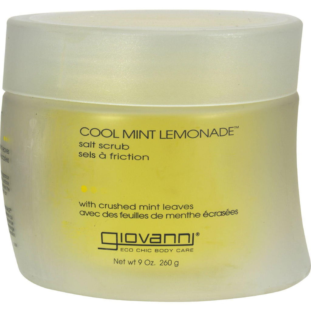 Giovanni Salt Scrub Cool Mint Lemonade䋢 - 9 oz-Giovanni Hair Care Products-pantryperks