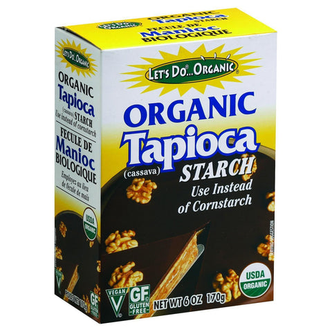 Let's Do Organic Tapioca Starch - 6 oz-Let's Do-pantryperks
