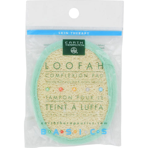 Earth Therapeutics Loofah Complexion Pad - 1 Pad-Earth Therapeutics-pantryperks