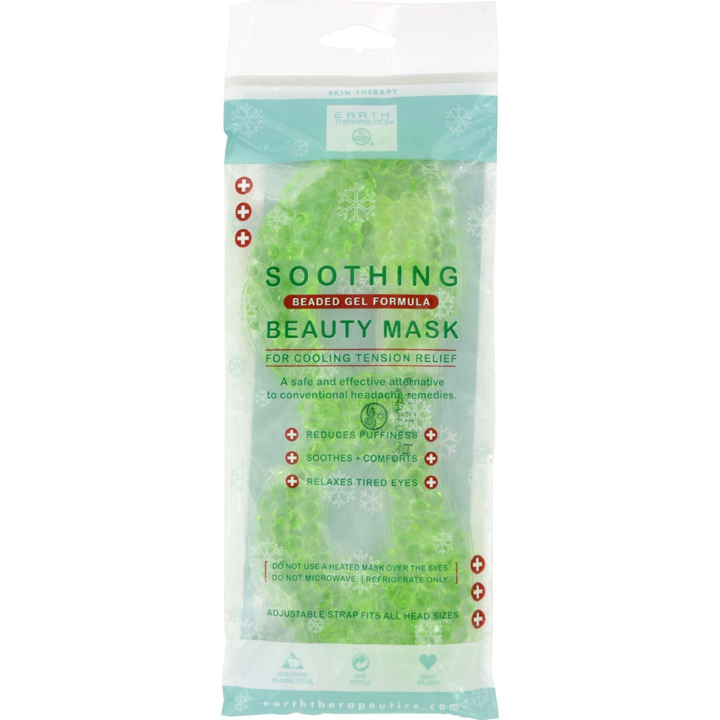 Earth Therapeutics Soothing Beauty Mask - 1 Mask-Earth Therapeutics-pantryperks