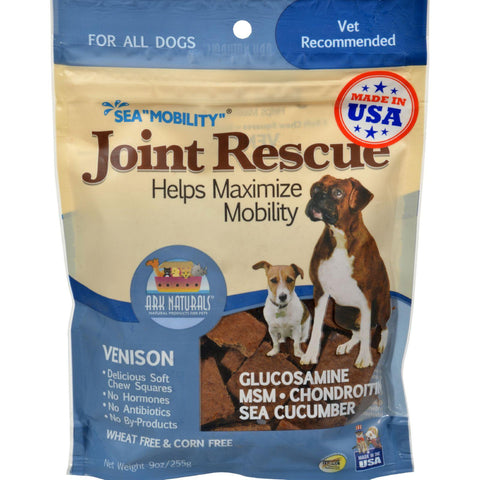 Ark Naturals Sea Mobility Joint Rescue Venison Jerky - 9 Oz-Ark Naturals-pantryperks