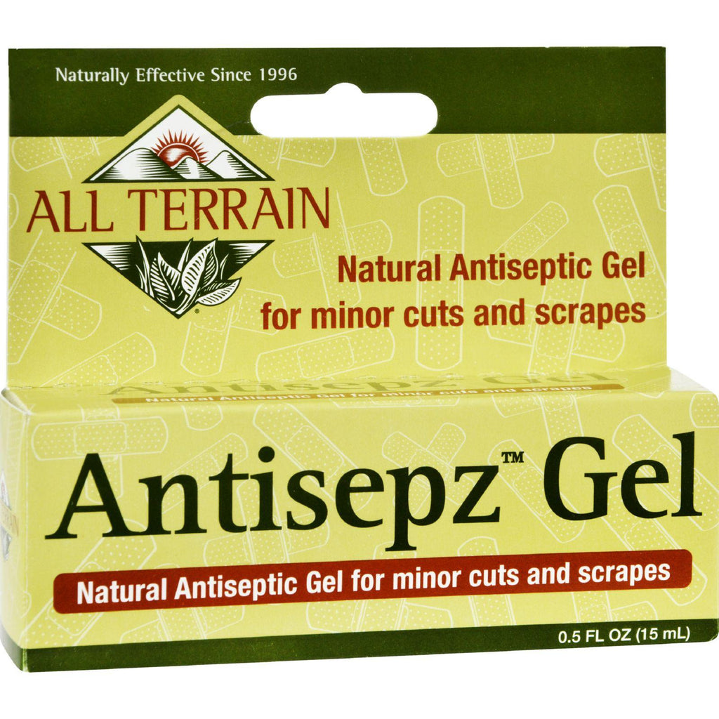 All Terrain Antisepz Gel - .5 Oz-All Terrain-pantryperks