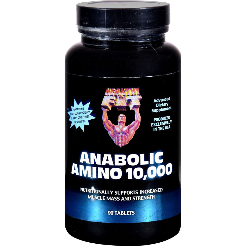 Healthy 'n Fit Anabolic Amino 10000 - 90 Tablets-Healthy 'n Fit-pantryperks
