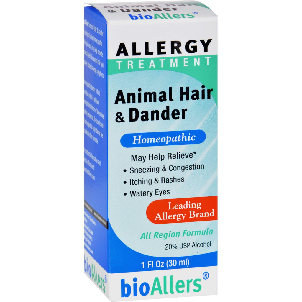 Bio-allers Animal Hair And Dander - 1 Fl Oz-Bio-allers-pantryperks