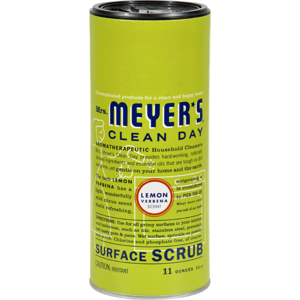 Mrs. Meyer's Surface Scrub - Lemon Verbena - Case Of 6 - 11 Oz-Mrs. Meyer's-pantryperks