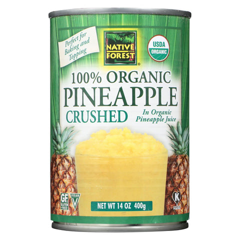 Native Forest Organic Pineapple Crushed - 14 oz-Native Forest-pantryperks