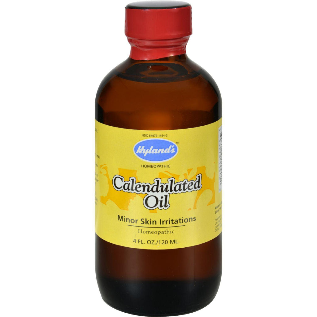 Hylands Homeopathic Calendula Oil - 4 Fl Oz-Hyland's-pantryperks