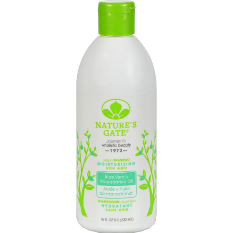 Nature's Gate Moisturizing Shampoo Aloe Vera - 18 fl oz-Nature's Gate-pantryperks