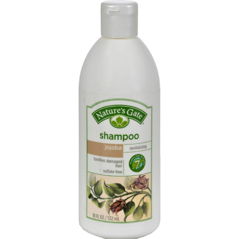 Nature's Gate Revitalizing Shampoo Jojoba + Sacred Lotus - 18 fl oz-Nature's Gate-pantryperks