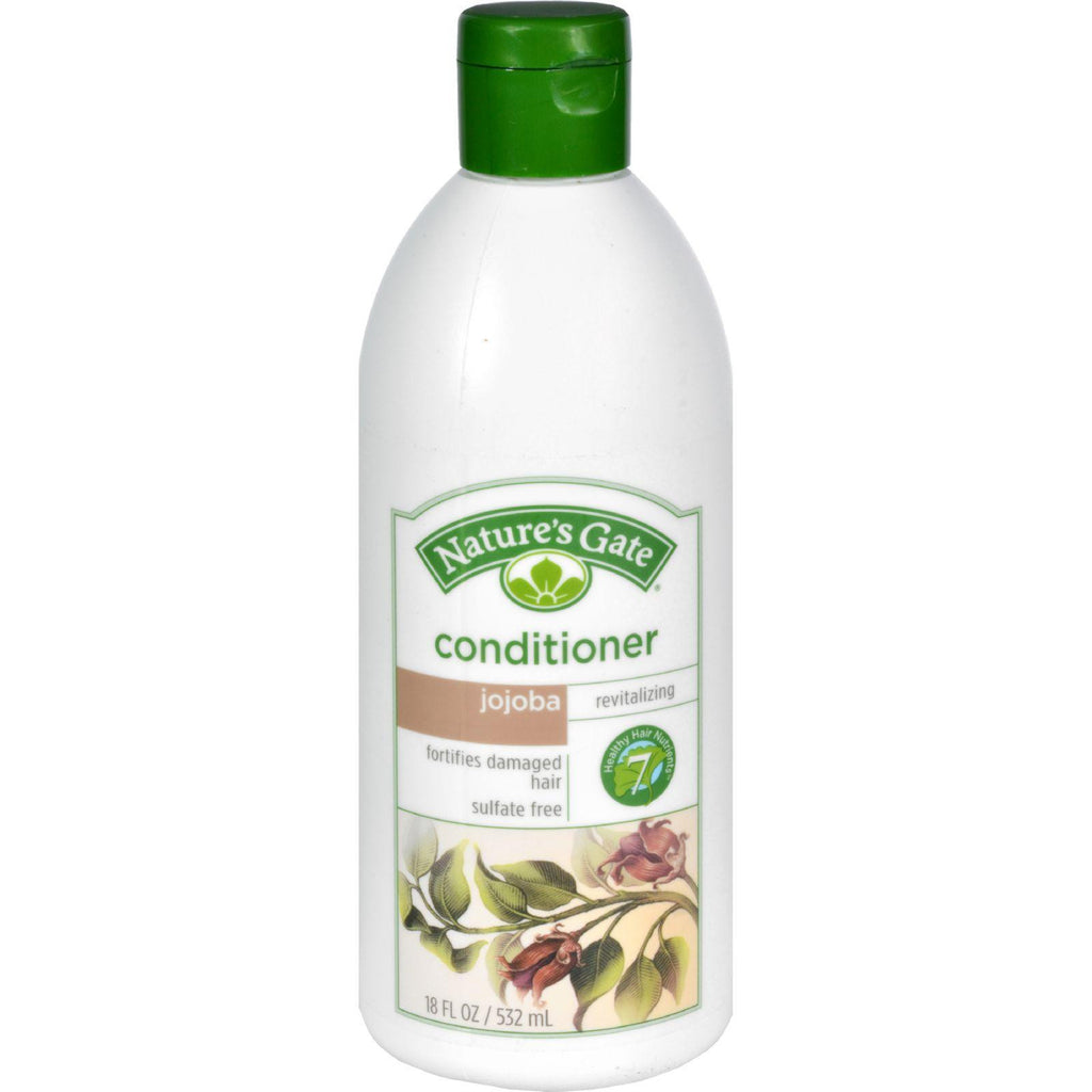 Nature's Gate Revitalizing Conditioner Herbal Jojoba + Sacred Lotus - 18 fl oz-Nature's Gate-pantryperks