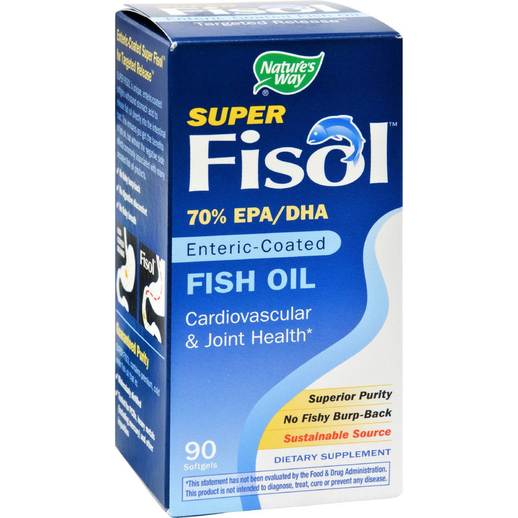 Nature's Way Super Fisol Fish Oil - 90 Softgels-Nature's Way-pantryperks