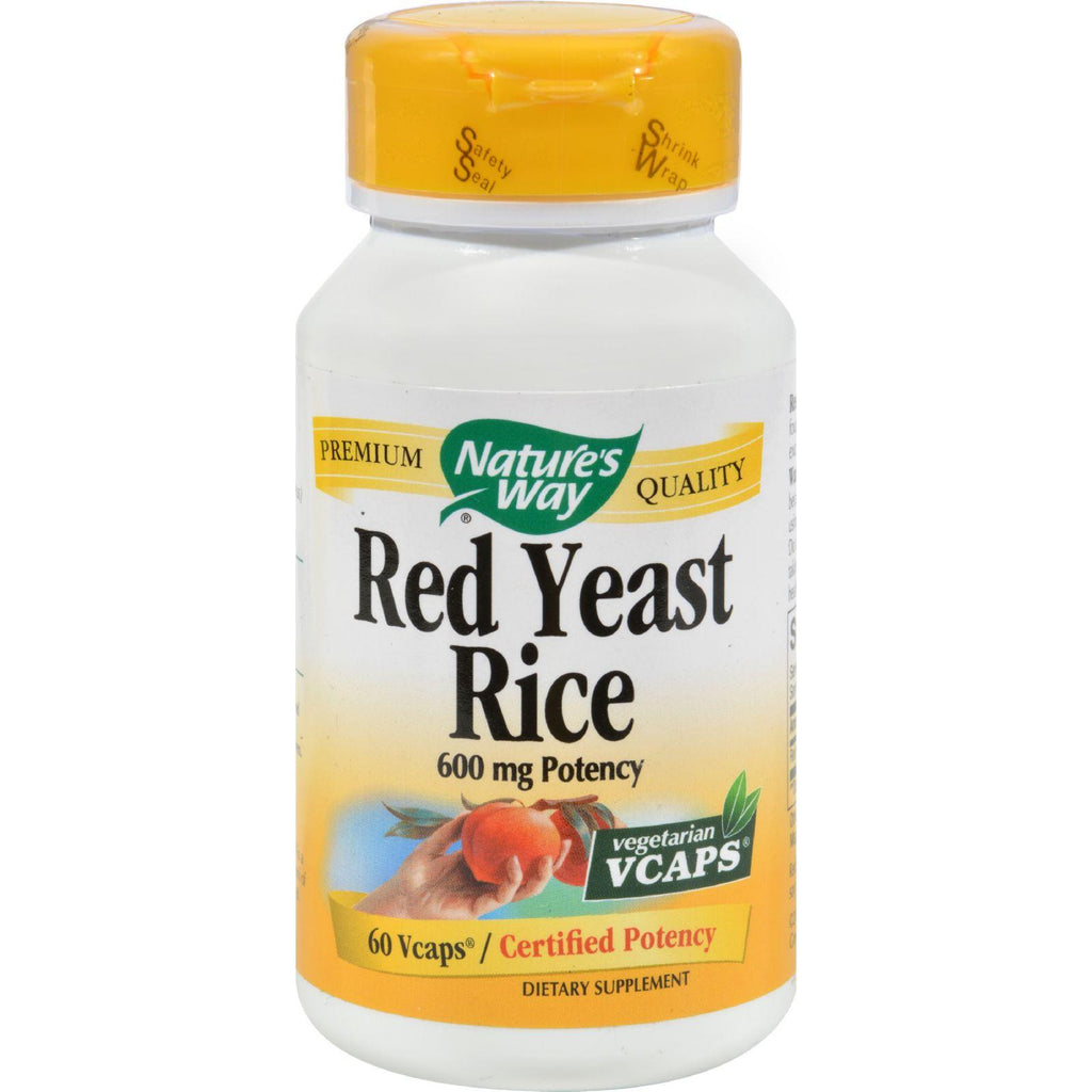 Nature's Way Red Yeast Rice - 60 Vcapså¨-Nature's Way-pantryperks