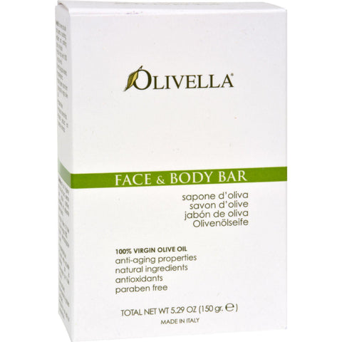 Olivella Face And Body Bar - 5.29 Oz-Olivella-pantryperks