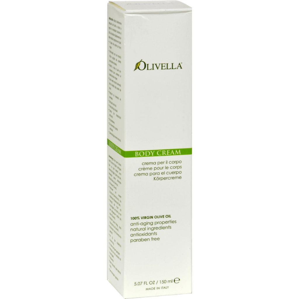 Olivella Virgin Olive Oil Body Cream - 5.07 Fl Oz-Olivella-pantryperks