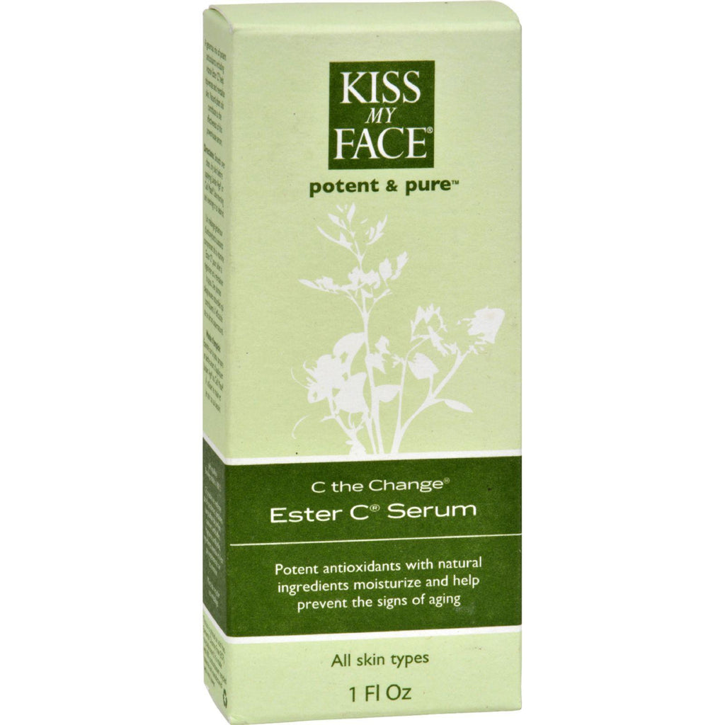 Kiss My Face C The Change Ester C Serum - 1 Fl Oz-Kiss My Face-pantryperks
