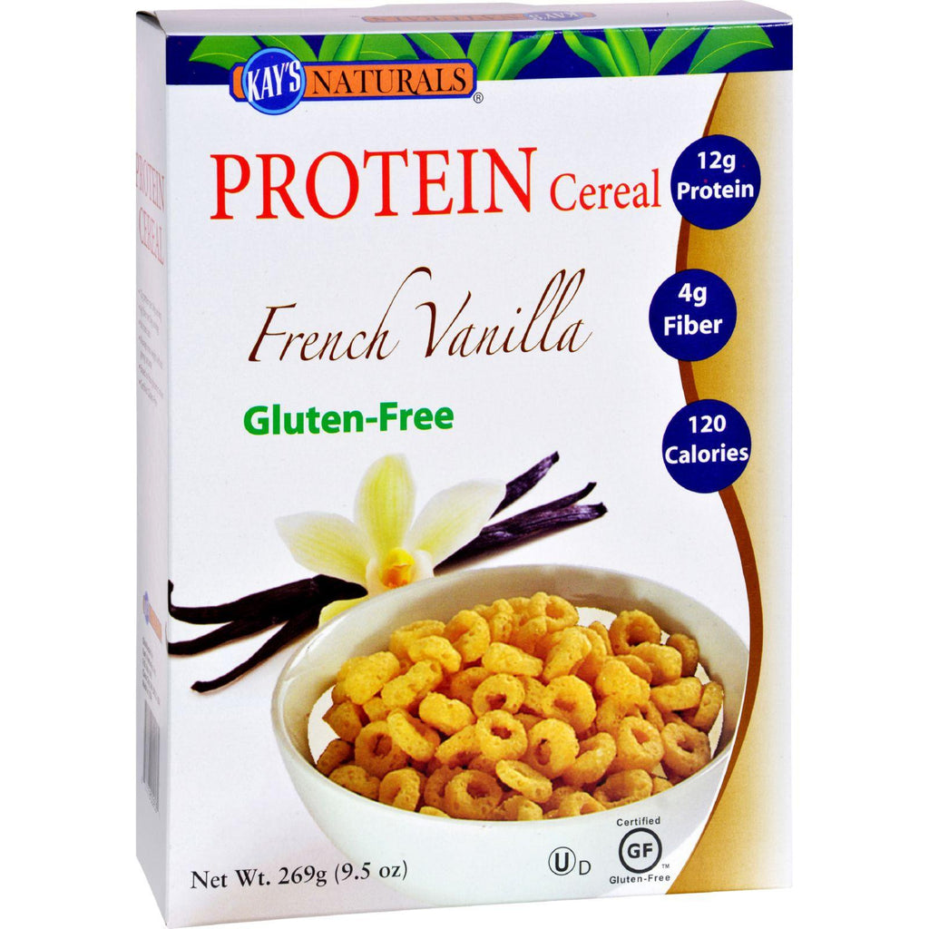 Kay's Naturals Better Balance Protein Cereal French Vanilla - 9.5 Oz - Case Of 6-Kay's Naturals-pantryperks