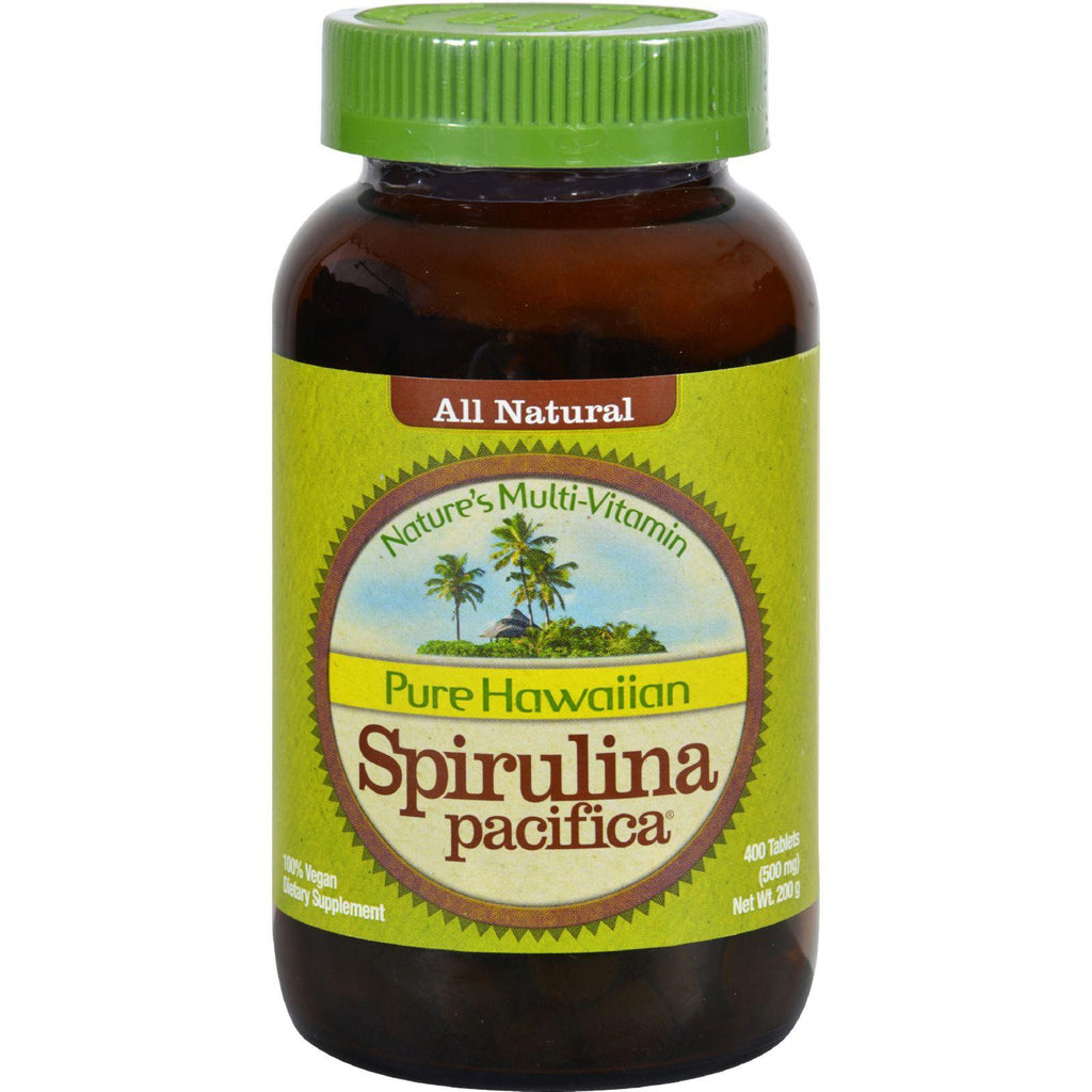 Nutrex Hawaii Pure Hawaiian Spirulina Pacifica - 500 Mg - 400 Tablets-Nutrex Hawaii-pantryperks