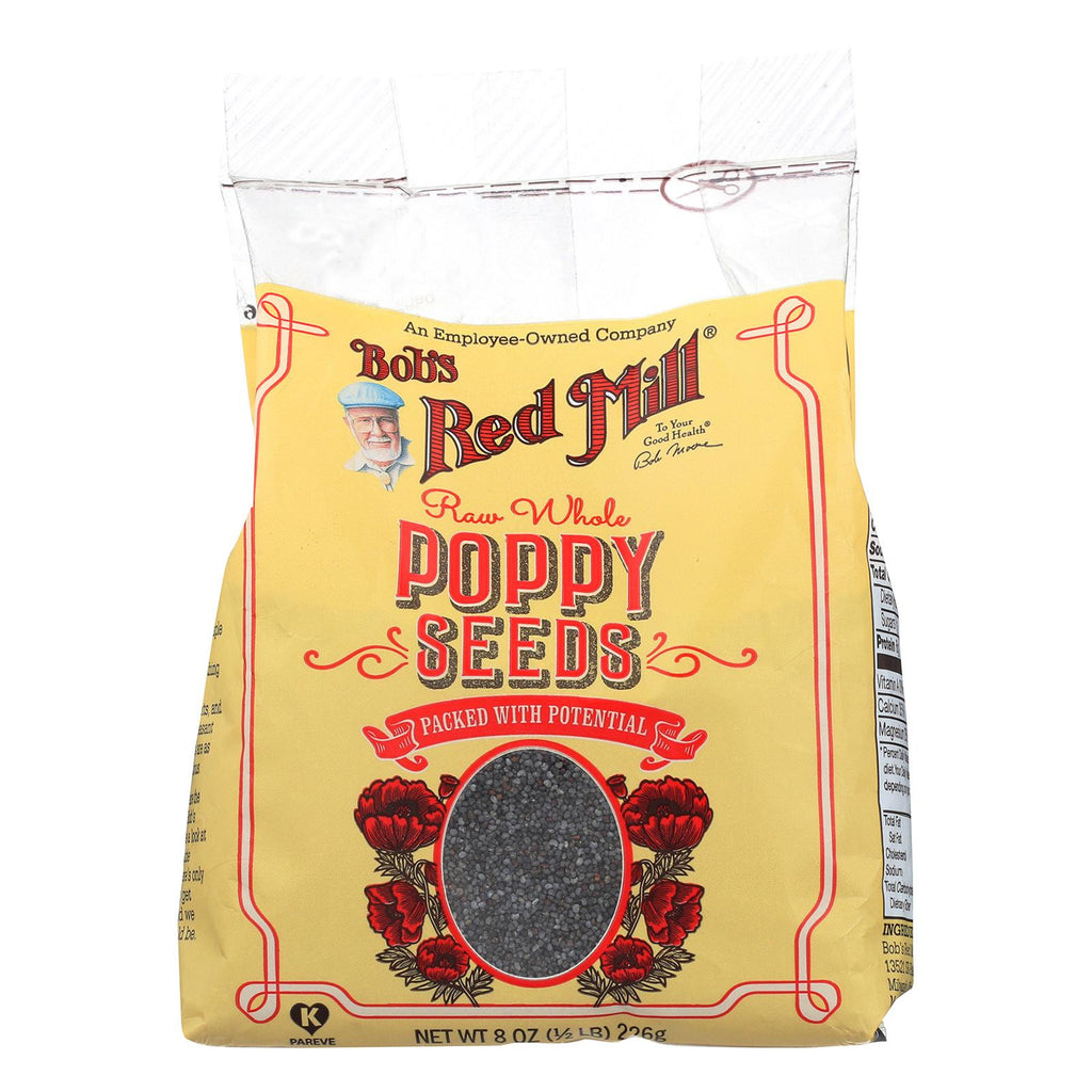 Bob's Red Mill Poppy Seeds - Natural - Case Of 8 - 8 Oz.-Bob's Red Mill-pantryperks