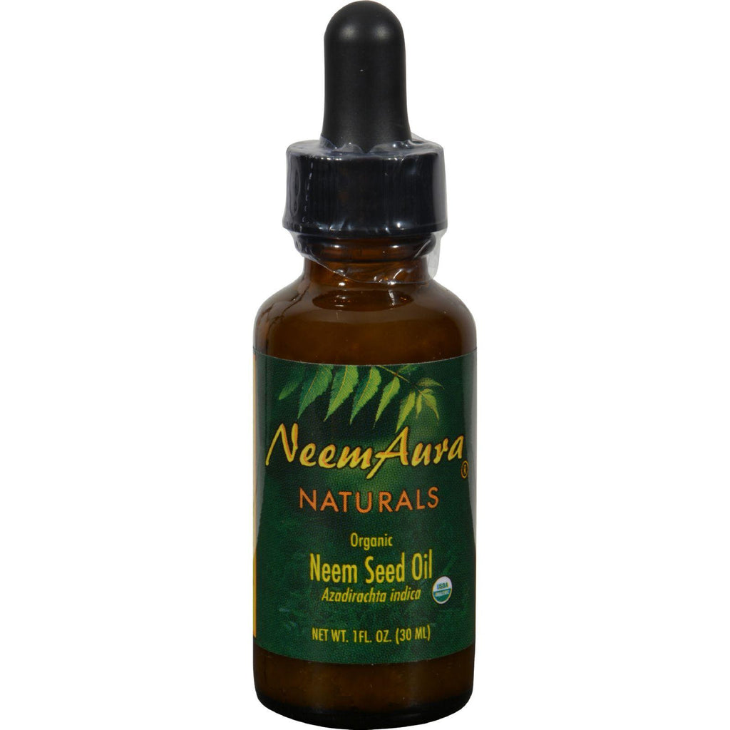 Neem Aura Neem Topical Oil - 1 fl oz-Neem Aura Naturals-pantryperks
